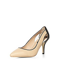 Dorothy Perkins - Nude dally cut out court shoes