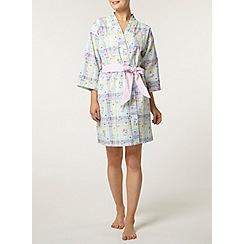 Dorothy Perkins - Multi floral check kimono