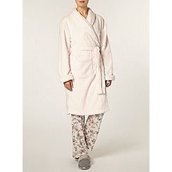 Dorothy Perkins - Blush glitter shawl robe
