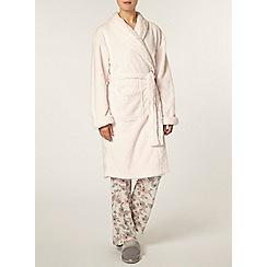 Dorothy Perkins - Blush glitter shawl robe
