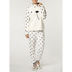 Dorothy Perkins - Cream bear snuggle top