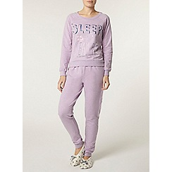 Dorothy Perkins - Lilac sleep for dreamers set