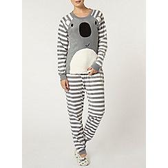 Dorothy Perkins - Grey koala novelty pyjama