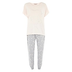 Dorothy Perkins - Pink glitter unicorn pyjamas