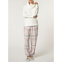 Dorothy Perkins - Cream loungewear pyjama set