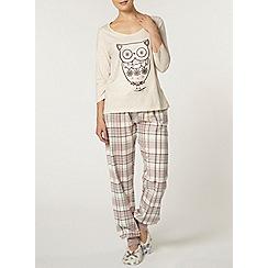 Dorothy Perkins - Oat folk owl pyjama set