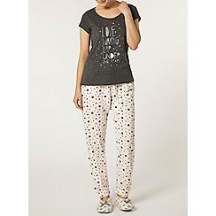 Dorothy Perkins - Pink star pyjama pant