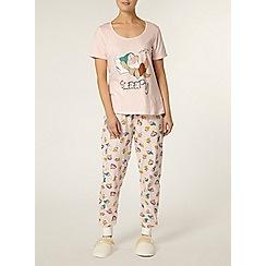 Dorothy Perkins - Pink 7 dwarves pyjama set