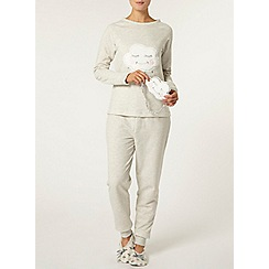 Dorothy Perkins - Grey sleepy cloud twosie