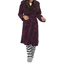 Dorothy Perkins - Purple dressing gown