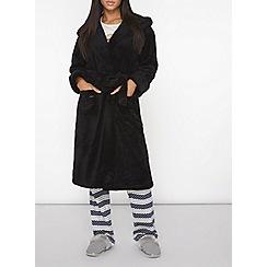 Dorothy Perkins - Black dressing gown