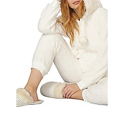 Dorothy Perkins - Cream ear detail onesie