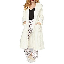 Dorothy Perkins - Cream robe with ears
