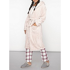 Dorothy Perkins - Fox hooded dressing gown