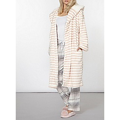 Dorothy Perkins - Pink candy striped robe
