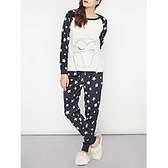 Dorothy Perkins - Navy owl pyjama set
