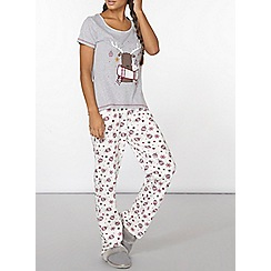 Dorothy Perkins - Christmas print pj bottoms