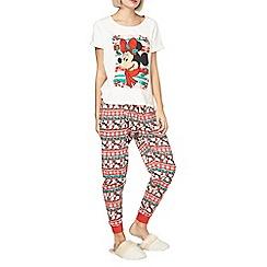 Dorothy Perkins - Christmas minnie pyjama set