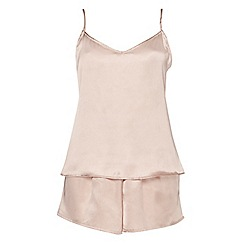 Dorothy Perkins - Nude v-back cami set