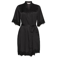 Dorothy Perkins - Black lace trim kimono