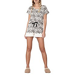 Dorothy Perkins - Lace print mix and match short