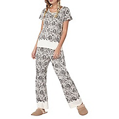 Dorothy Perkins - Lace print mix and match pants