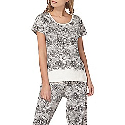 Dorothy Perkins - Lace print mix and match top