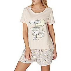 Dorothy Perkins - Snoopy on holiday pyjamas set