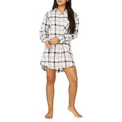 Dorothy Perkins - Multi coloured check print nightshirt