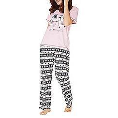 Dorothy Perkins - Chilling 'chilling together' penguin pyjama set