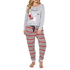 Dorothy Perkins - Multi coloured 'llama' pyjamas