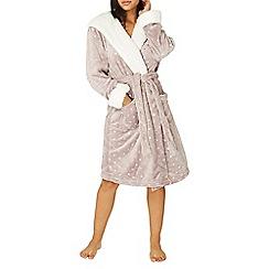 Dorothy Perkins - Mink foil star robe
