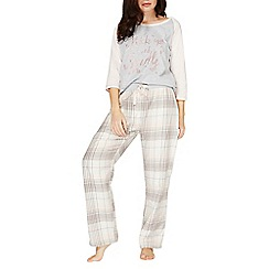 Dorothy Perkins - Multi coloured check print pyjama bottoms