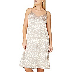 Dorothy Perkins - Leopard print satin slip nightdress