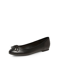 Dorothy Perkins - Black basic round toe pumps