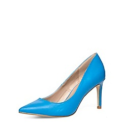 Dorothy Perkins - Wide fit blue pointed court