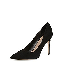 Dorothy Perkins - Wide black pointed court shoes