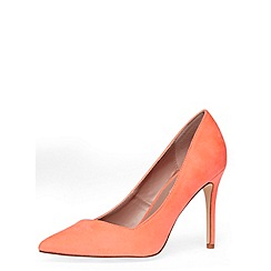 Dorothy Perkins - Wide neon coral high courts
