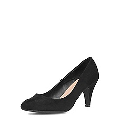 Dorothy Perkins - Wide fit black courts