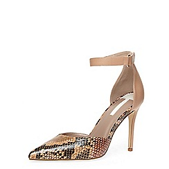 Dorothy Perkins - Wide nude two part point court