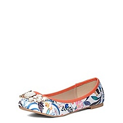 Dorothy Perkins - Wide fit print detailed pumps