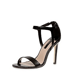 Dorothy Perkins - Black minimal high sandals