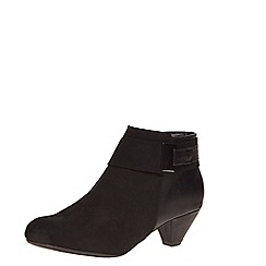 Dorothy Perkins - Wide fit black shoeboot