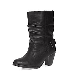 Dorothy Perkins - Wide fit 'wex' heeled boots