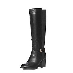 Dorothy Perkins - Wide fit black 'whisper' boots