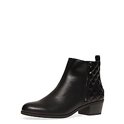 Dorothy Perkins - Black wide fit quilted boots
