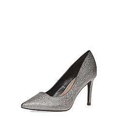 Dorothy Perkins - Pewter 'wafer' wide fit court shoes