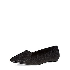 Dorothy Perkins - Wide fit black 'wonder' pumps