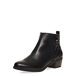 Dorothy Perkins - Black wisk quilted ankle boots