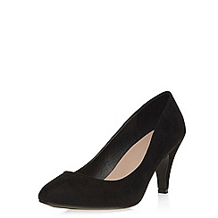 Dorothy Perkins - Black 'wilma' wide fit courts